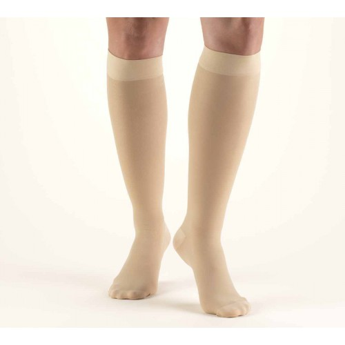 TRUFORM Women's TruSheer Knee High Support Stockings 30-40 mmHg