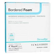 Bordered Foam 4 Inch Round