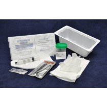 Universal Indwelling Catheter Insertion Tray - Pre-Filled Water Syringe