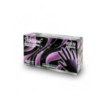 Shadow Nitrile Gloves - Black, Powder Free