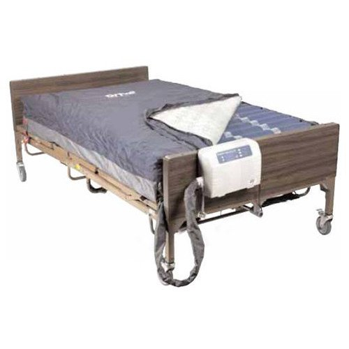 Med-Aire PLUS 48 Inch Wide Bariatric Alternating Pressure Low Air Loss Mattress System - 14048