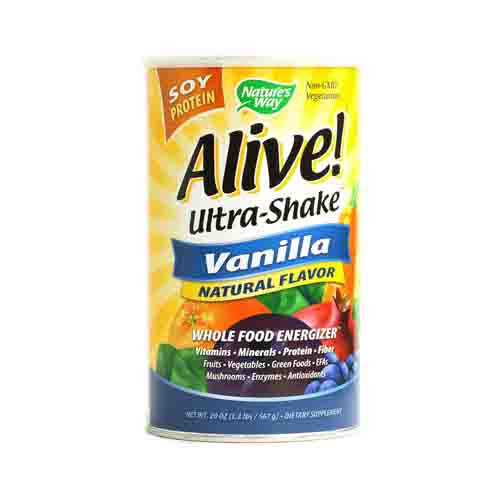 Alive! Soy Protein Ultra-Shake