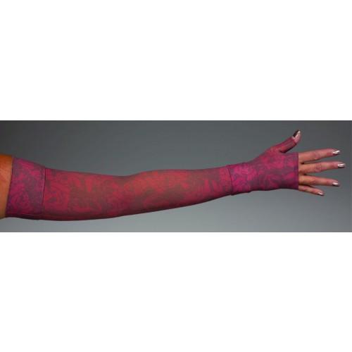 LympheDivas Scarlet Compression Arm Sleeve 30-40 mmHg