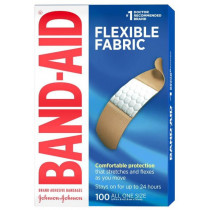 Flexible Fabric Front of Box 100 Count