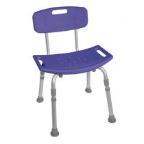 Bath Seat Bench with Back Deluxe Bathing Chair