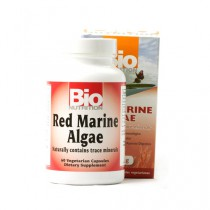 Bio Nutrition Red Marine Algae Vegetarian Capsule 1000 mg Dietary Supplement