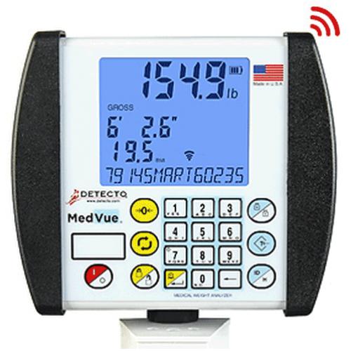 Detecto MV1 MedVue Analyzer Medical Weight Analysis