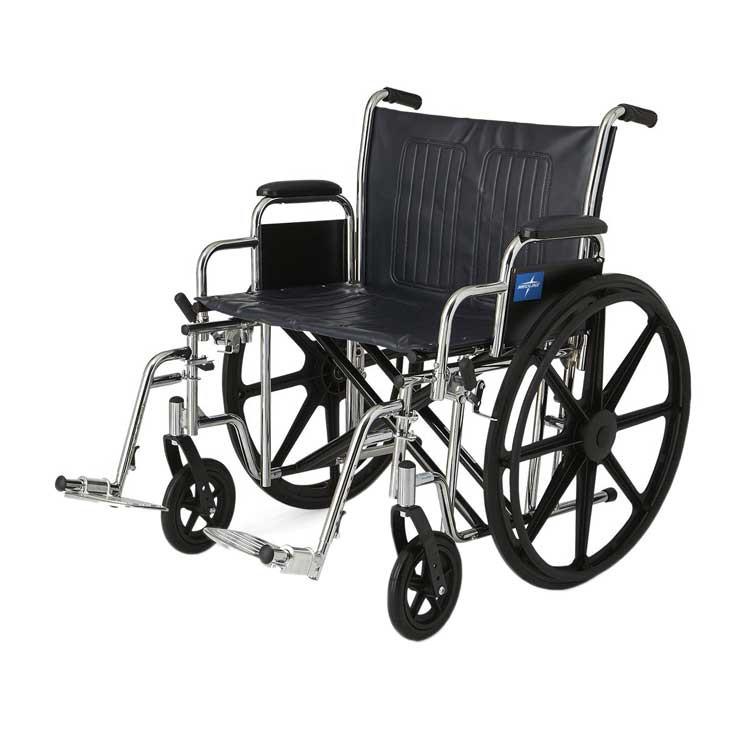medline extra wide wheelchair 6f1