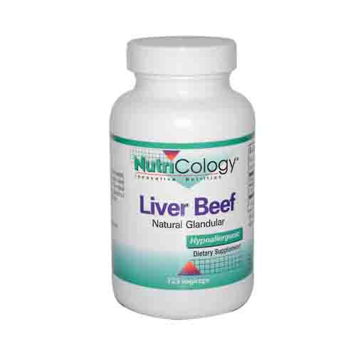 Liver Organic Glandular Dietary Supplement