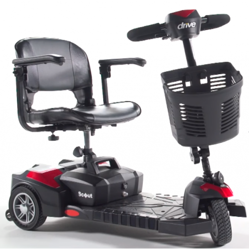 Spitfire Scout 3 Wheel Power Scooter by Drive Medical