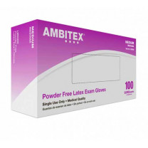 Ambitex Powder Free Latex Exam Gloves V200 Series