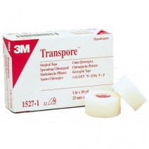 Nexcare Transpore Clear Tape 527P1   1 Inch x 10 Yards by 3M