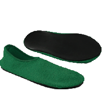 Posey Fall Management Slippers - Green