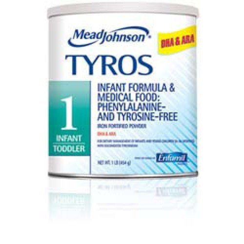 TYROS 1 Infant to Toddler Medical Food for Tyrosinemia