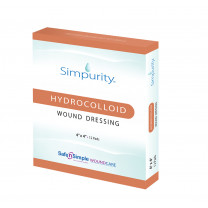 Safe N Simple Simpurity Hydrocolloid Wound Dressing