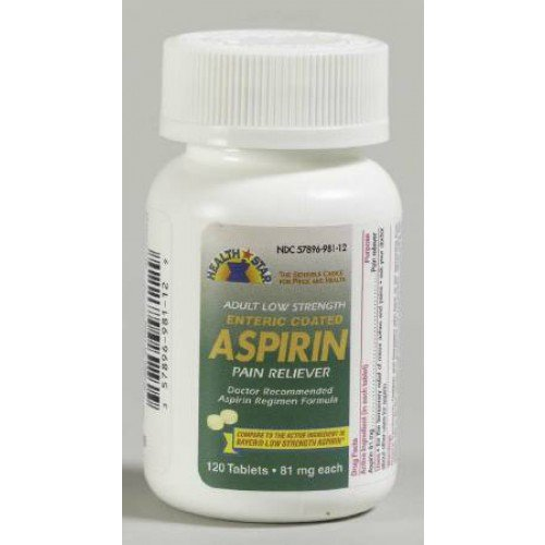 Generic Aspirin 81 mg by McKesson