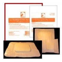 Gentell Loprofile Foam Dressing with Border