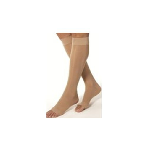 Shape To Fit Unisex Anti-Embolism Open-Toe Knee-Highs 18 mmHg