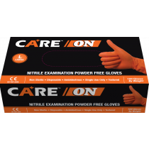 CARE ON Nitrile Exam Powder-Free Gloves