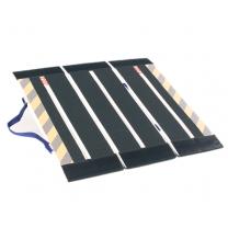 DecPac Portable Fiberglass 3-Panel Ramps