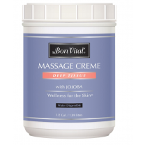 Deep Tissue Massage Cream and Massage Lotion by Bon Vital