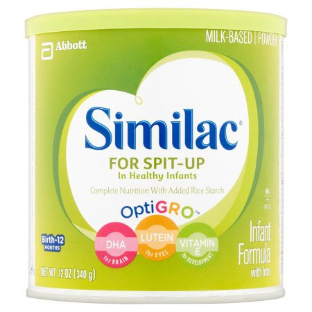 similac for spit up in healthy infants with iron and optigro 62a