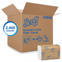 Scott Essential Multifold Paper Towels (C, Sinlge & Multi-Fold)