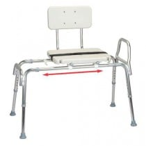 Transfer Bench with Blow Molded Seat and Back, Reg.