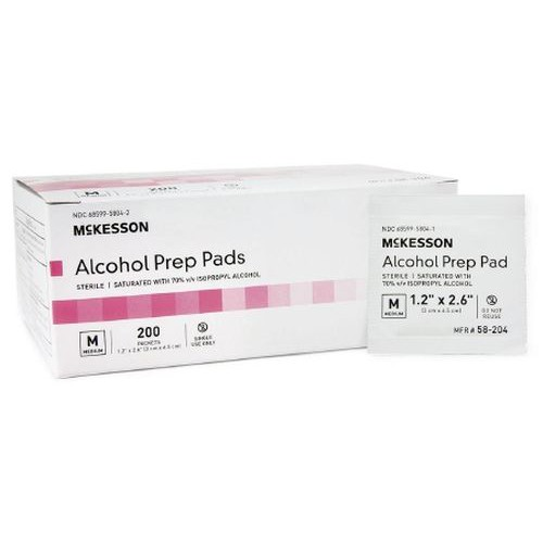 Select Lightweight Alcohol Prep Pad