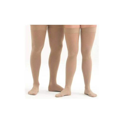 Shape To Fit Unisex Microfiber Medical Thigh-High Stockings 20-30 mmHg