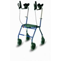 Alpha Basic Rehab Rollator with Forearm Supports