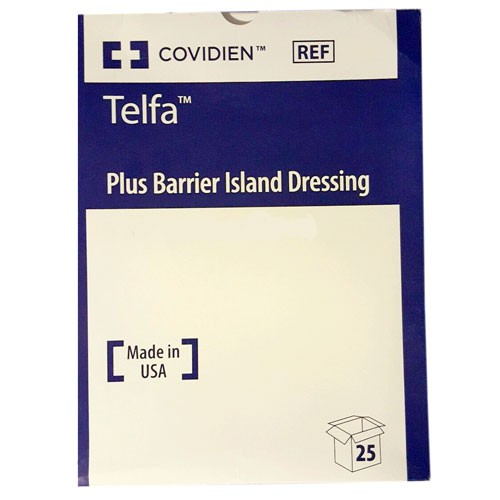 Covidien Telfa Plus Barrier Island