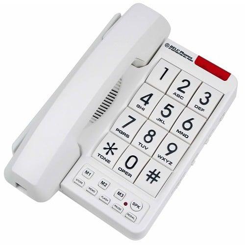 Big Button Phone White NWB-20600