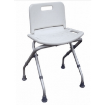Folding Bath Tub Shower Chair with Back by Drive
