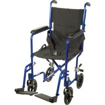 Transport Chair Lightweight Aluminum 17 Inch
