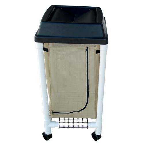 PVC Single Bag Hamper with Universal Lid