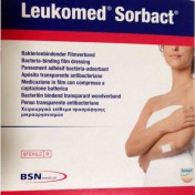 Leukomed Sorbact Post-Op Dressing 7619901 | 3 x 4 Inch by BSN