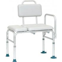 Padded Transfer Bench with Suction Feet