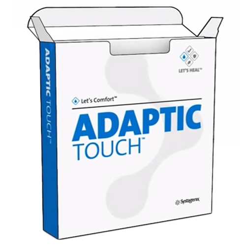 adaptic touch silicone non adherent dressing 6cc