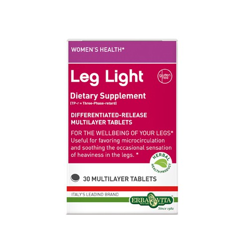 Erba Vita Leg Light Circulation Support Dietary Supplement