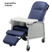 Imperial Blue Geri Chair Recliner