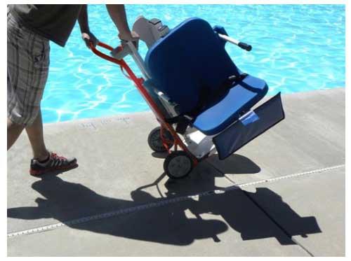 aqua creek pool lift transport cart 738