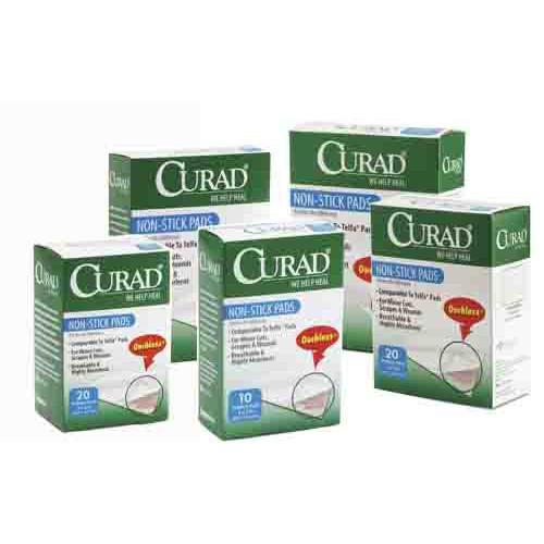CURAD Non-Stick Pads, Latex Free - Sterile