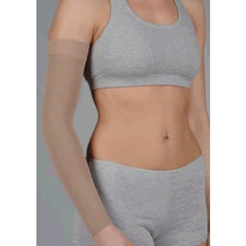 Juzo Dynamic 3512CG Armsleeve with Silicone Top Band 30-40mmHg