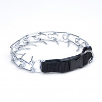 Titan Easy-On Dog Prong Training Collar with Buckle