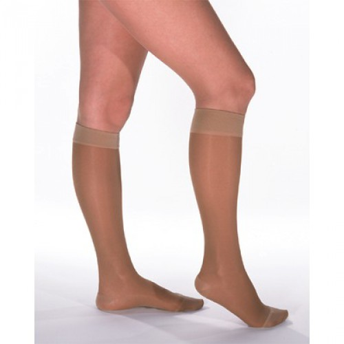 VENOSOFT Knee High Compression Stockings CLOSED TOE 20-30 mmHg
