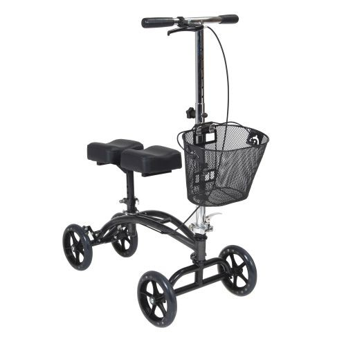 Drive steerable knee walker