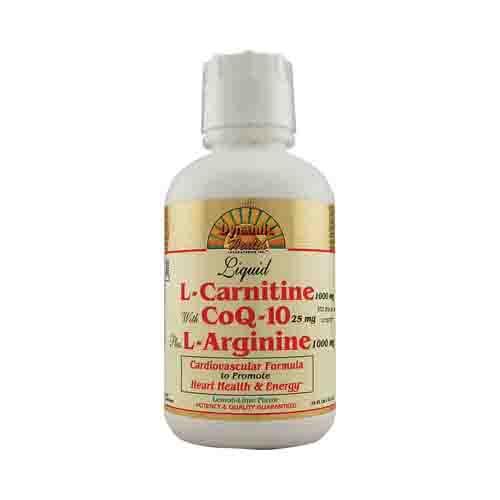 Liquid L-Carnitine with CoQ-10 plus L-Arginine Amino Acids