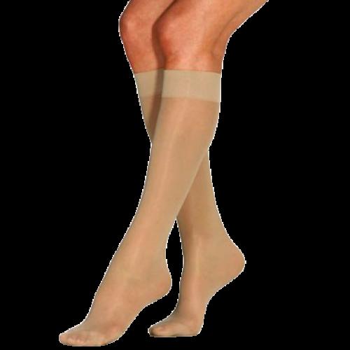 Jobst Women's UltraSheer Knee High Stockings 8-15 mmHg