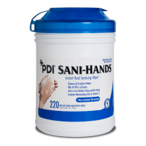 Sani-Hands ALC Antimicrobial Alcohol Gel Wipes